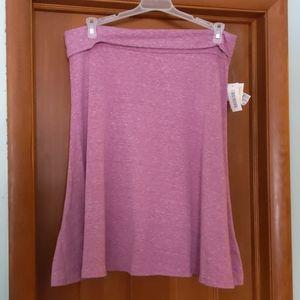 LuLaRoe Azure Skirt heathered XL